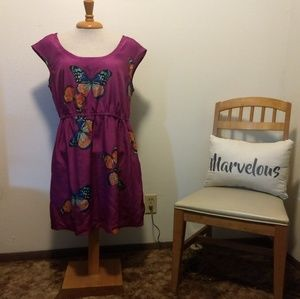 Butterfly dress with pockets